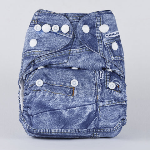 Pocket Diaper (Jeans)