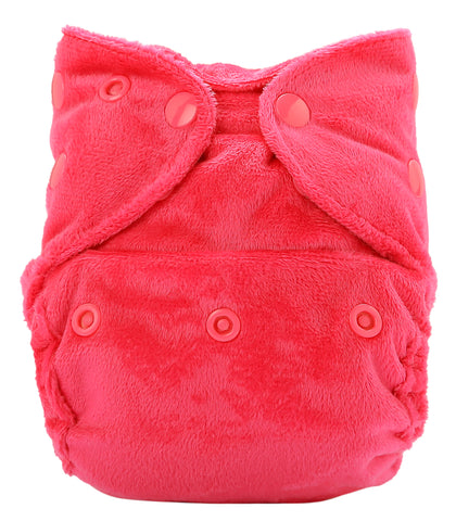 Bumberry Newborn SuperSoft Diaper Cover (Pink)