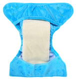 Bumberry Newborn SuperSoft Diaper Cover (Blue)