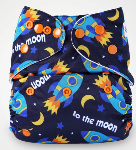 Cover Diaper (Moons)