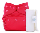 Bumberry Cover Diaper (Rose Pink) + 1 Wet free Insert