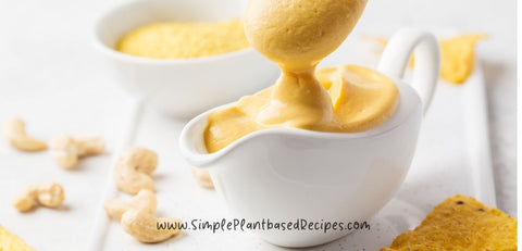 Easy Cashew Cheese Sauce For MultiPurpose Use