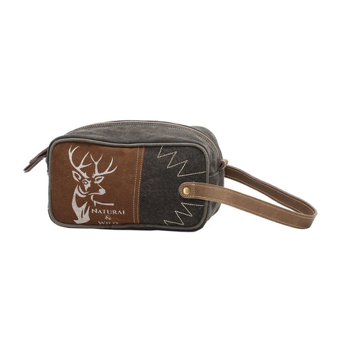 PREORDER Men's Deer Shaving Kit Bag
