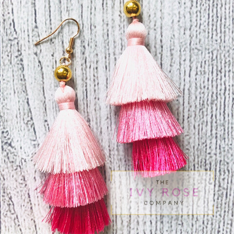 Priscilla Tiered Earrings