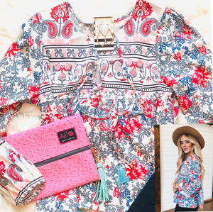 Sweet Flowerchild Blouse
