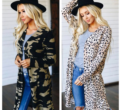 Wild and Free Long Cardigan