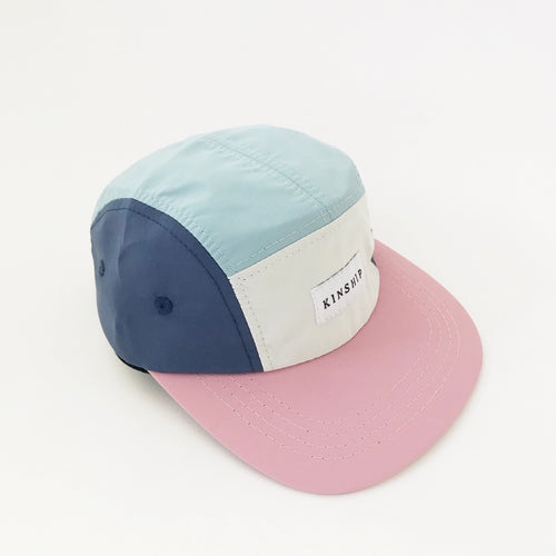 Pink brim nylon 5-panel / toddler