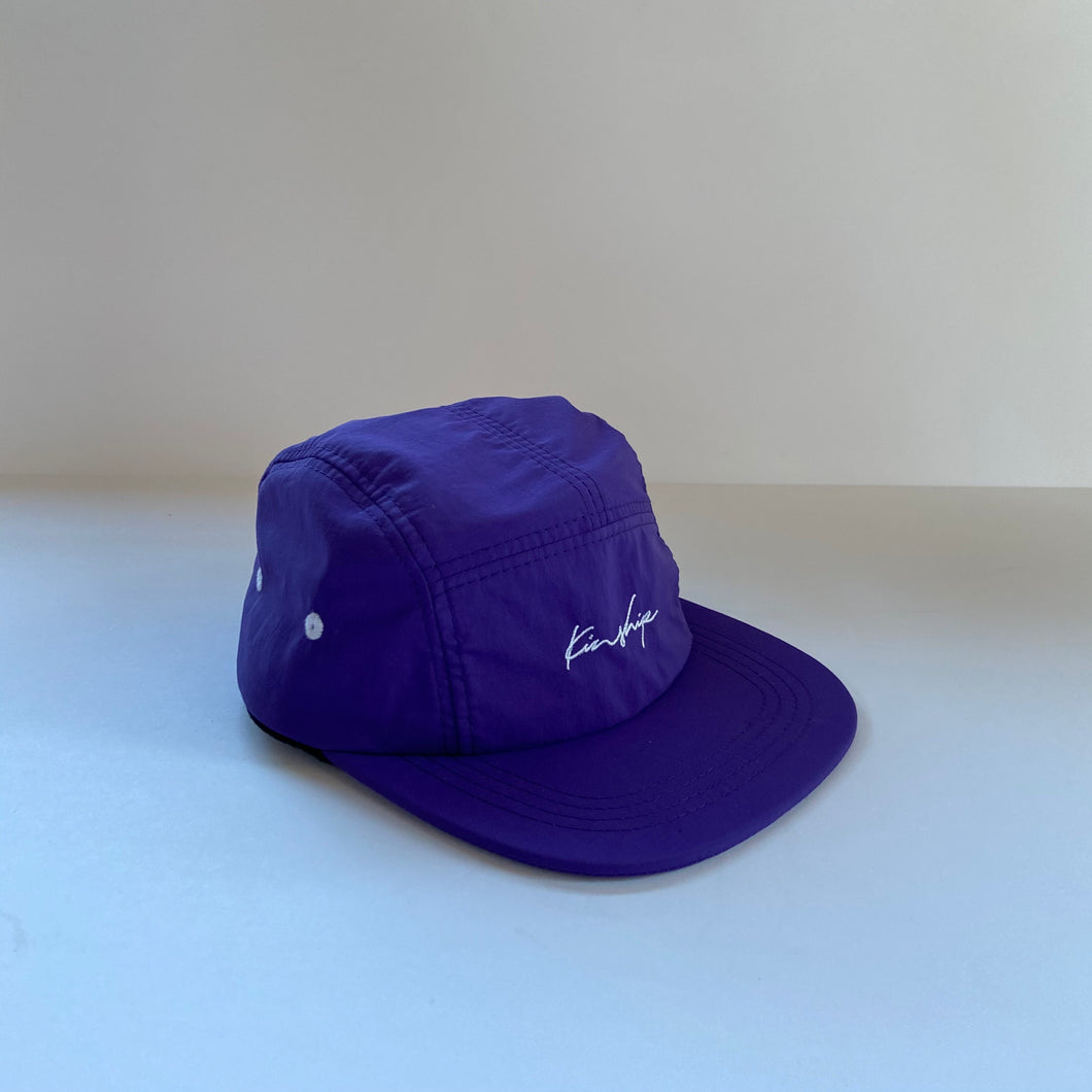 Purple nylon 5-panel / kid