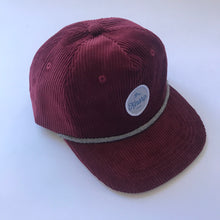 Burgundy Corduroy pinch 5-panel / toddler