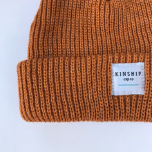 Rust Beanie / Toddler + Kid