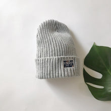 Ribbed high top beanie / Toddler + Kid