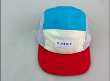 Nylon color block 5-panel / kid