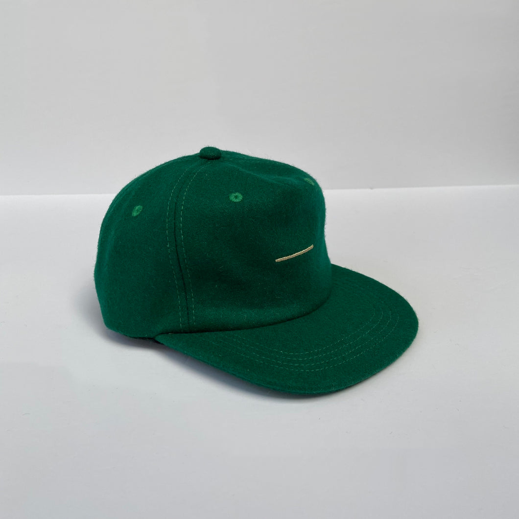 Evergreen wool pinched 5-panel / toddler