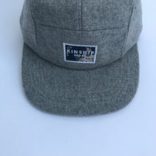 Grey wool 5-panel / toddler