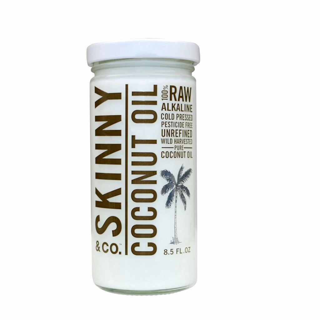 Skinny & Co. Coconut Oil Raw-Wild Harvested-Alkaline