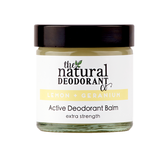 Natural Deodorant Co. ACTIVE Lemon + Geranium 60ml
