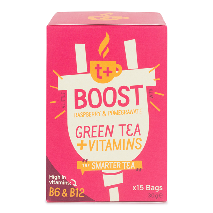 T plus Boost Tea