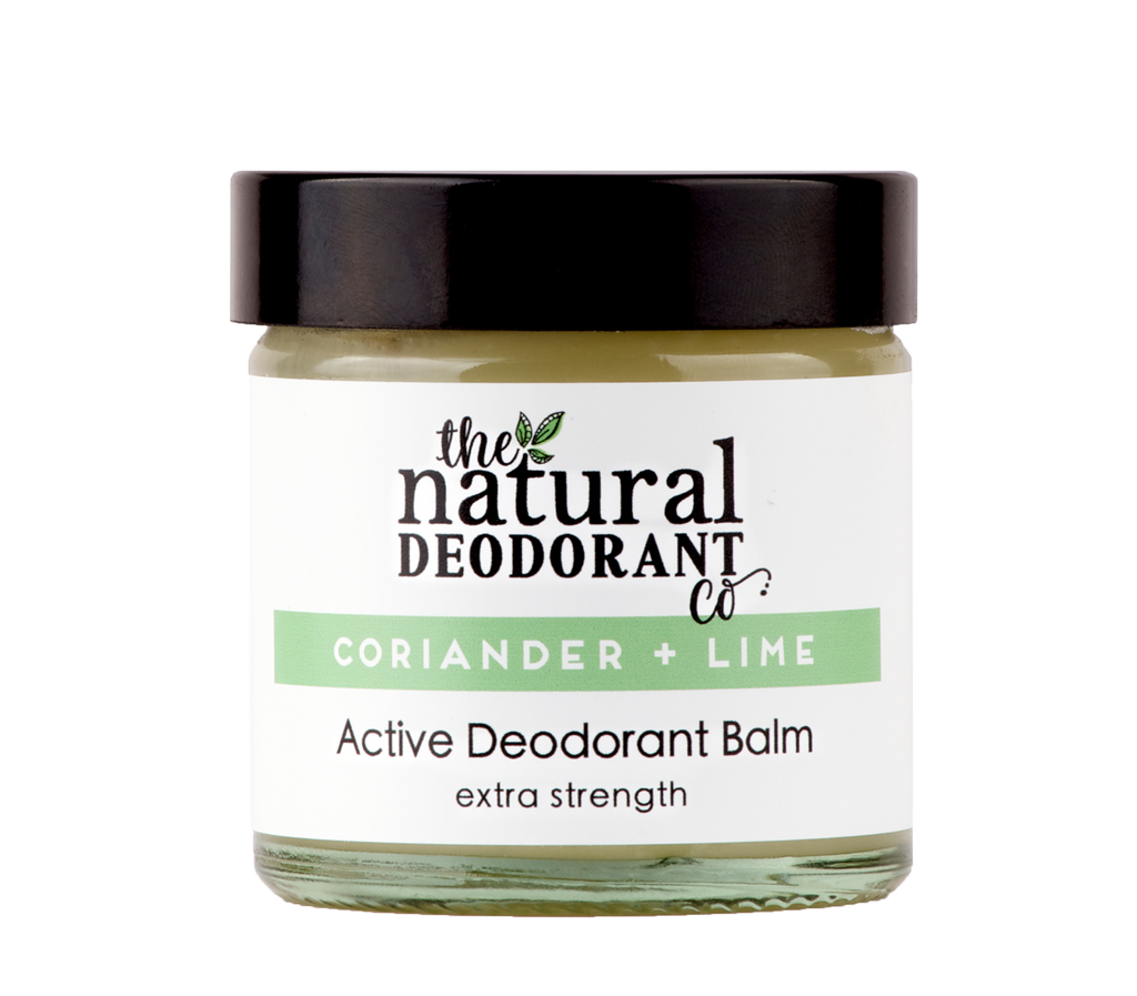 Natural Deodorant Co. ACTIVE Coriander + Lime 60ml