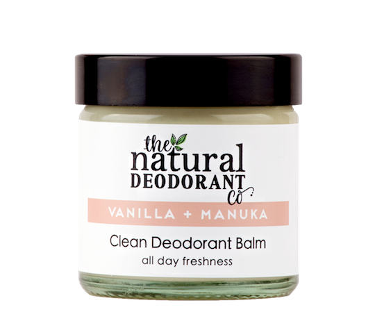 Natural Deodorant Co. CLEAN Vanilla + Manuka 60ml