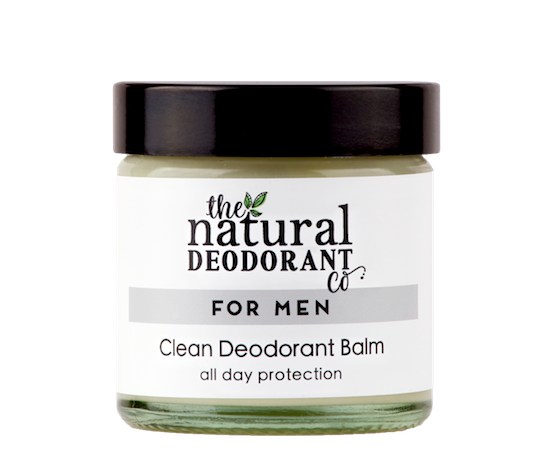 Natural Deodorant Co. CLEAN Deodorant for Men 60ml