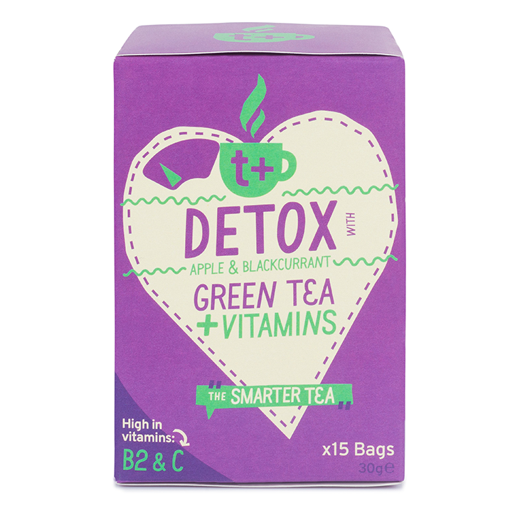 T plus Detox Vitamin Tea 15 Tea Bags