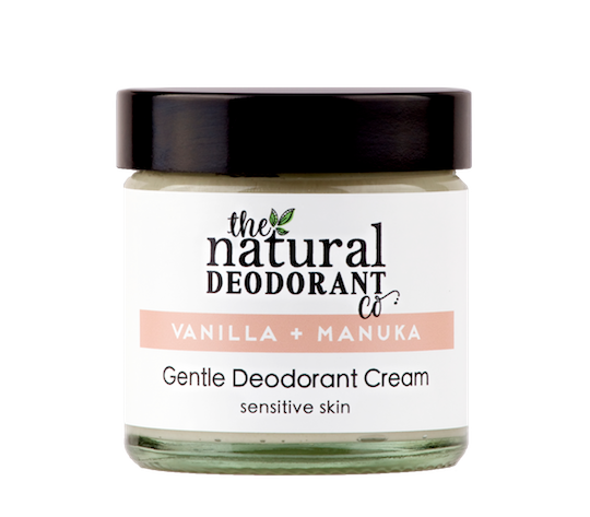 Natural Deodorant Co. GENTLE Vanilla + Manuka 60ml