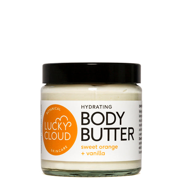 Lucky Cloud Soothing Body Butter Sweet Orange + Vanilla 120ml