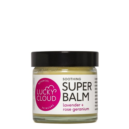 Lucky Cloud Soothing Super Balm Lavender + Rose Geranium 60ml