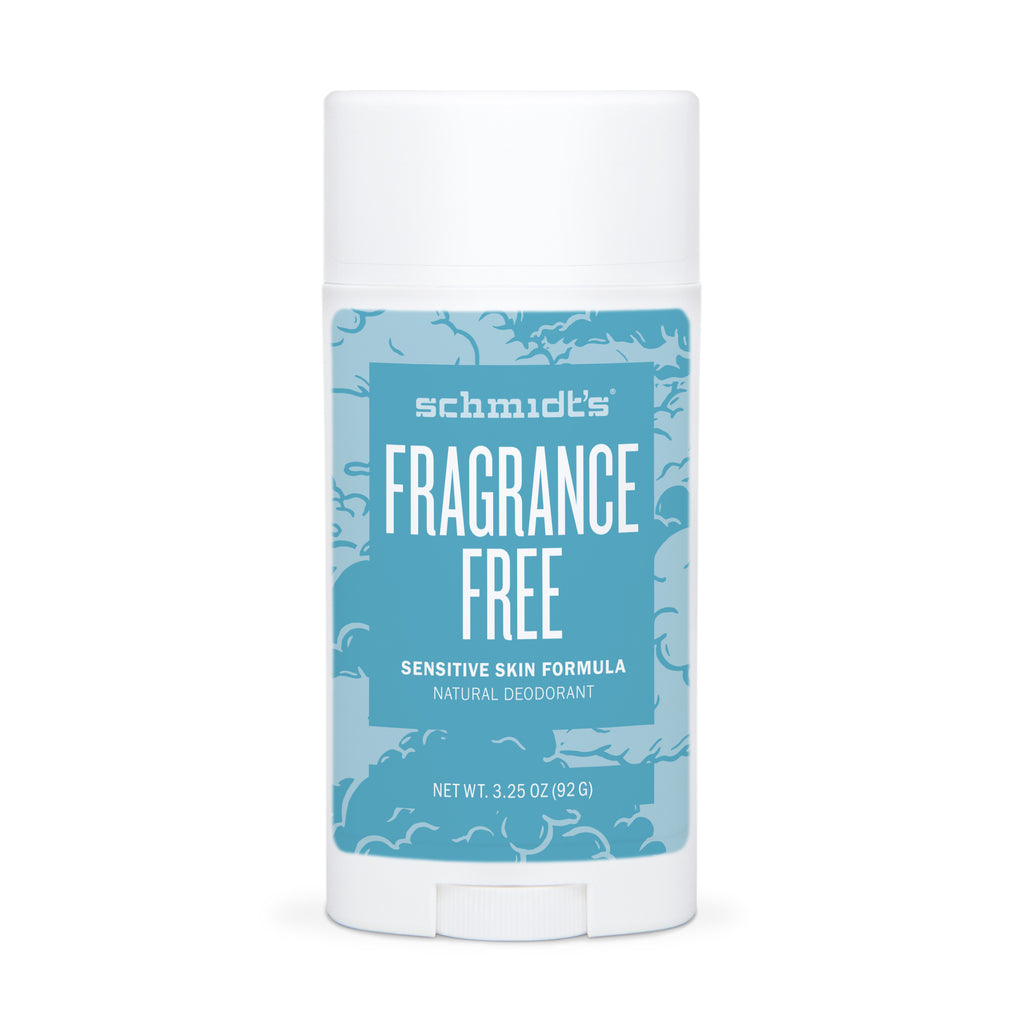 Schmidt's SENSITIVE SKIN Fragrance-Free Deodorant The British Health Store