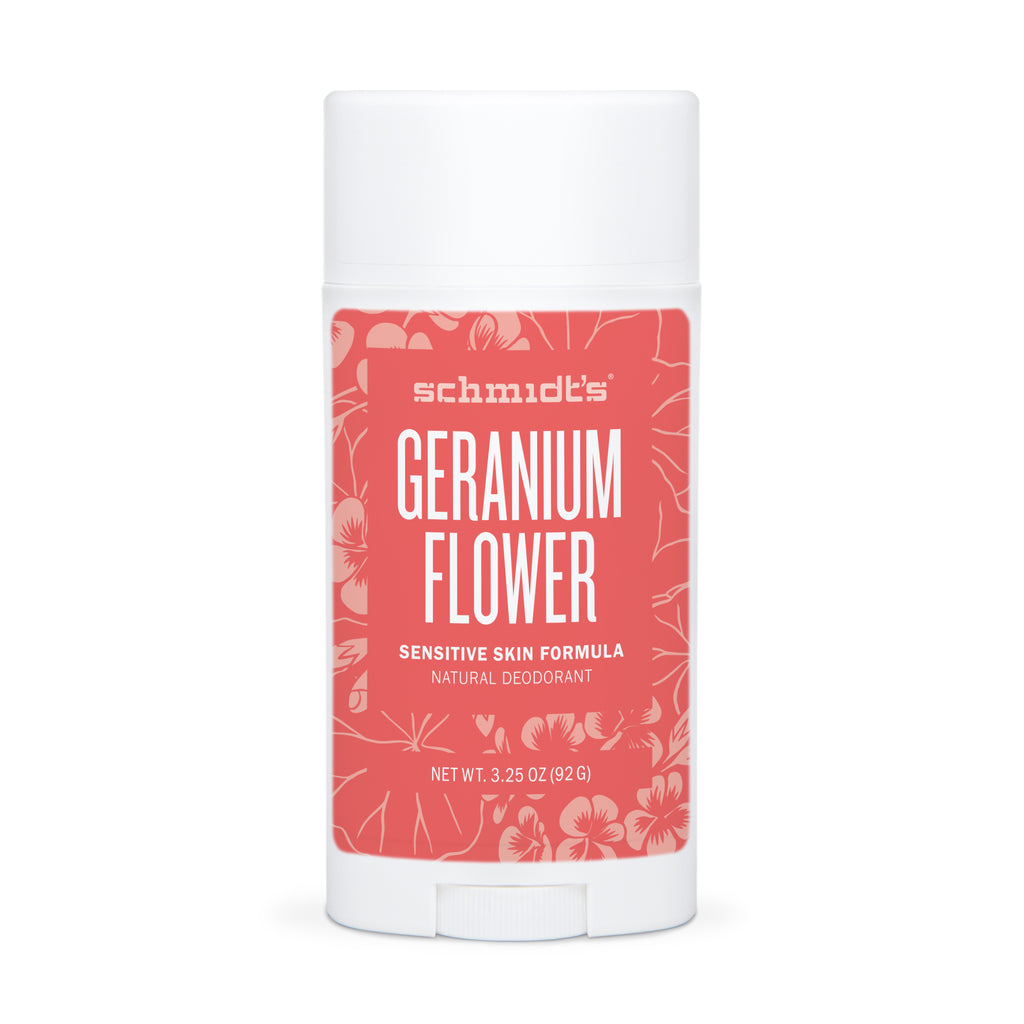 Schmidt's Deodorant GERANIUM FLOWER FOR SENSITIVE SKIN