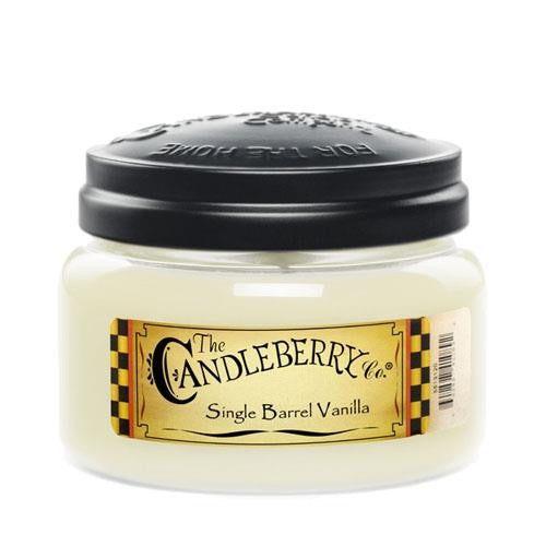 Candleberry Single Barrel Vanilla Medium Jar Candle