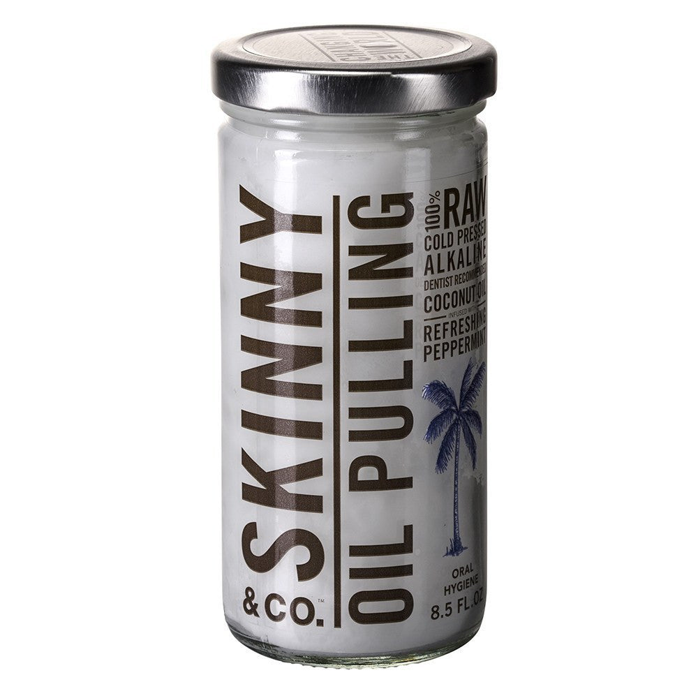 Skinny & Co. Oil Pulling - Peppermint, Alkaline Coconut Oil