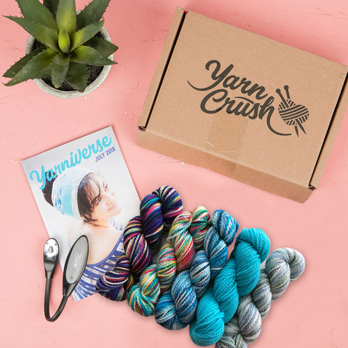 Yarn Crush July 2019 - Cool