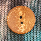 Coconut Shell Buttons - 1 3/4