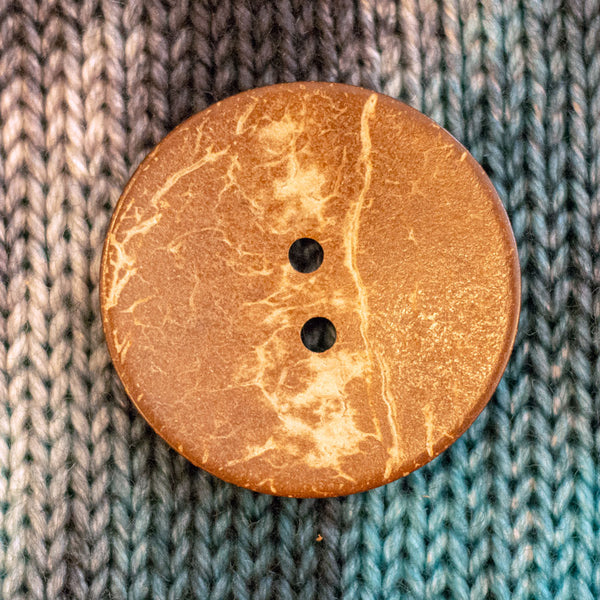 "Coconut Shell Buttons - 1 3/4"" (3 pack)"