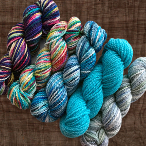 Fibre Arts Studio DK Mini Skein Set - Cool
