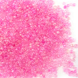 Glass Seed Beads - 10/0 - Pretty Pink - 25g