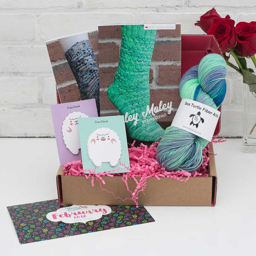 yarn crush hand dyed yarn subscription box for knitting and crochet. Black Bedroom Furniture Sets. Home Design Ideas