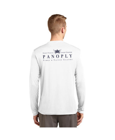 Performance Long Sleeve Tee in White