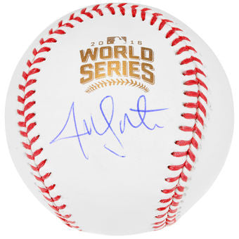 Jon Lester World Series Auto baseball Fanatics and MLB COA