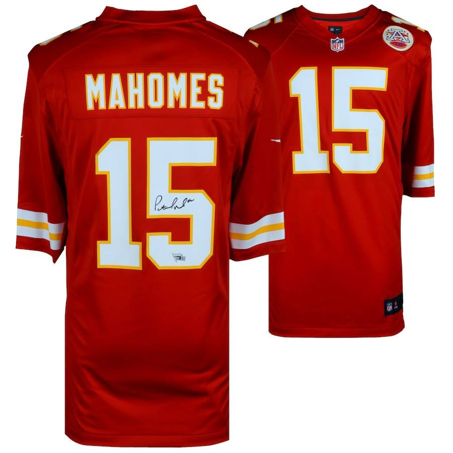 Patrick Mahomes Autographed Chiefs Jersey