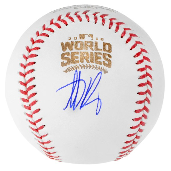 Anthony Rizzo Chicago Cubs Autographed 2016 MLB World Series Baseball