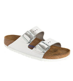 Arizona Soft Footbed Metallic Silver
