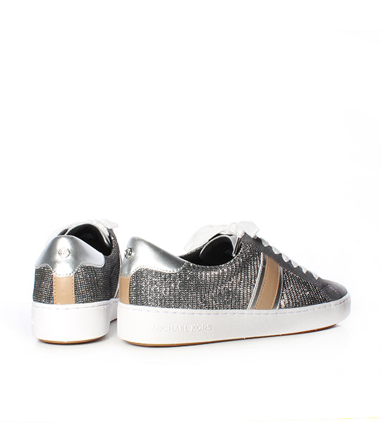 Irving Stripe Lace-Up Sneaker Anthracite