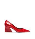 Enrica Pump Red Croco