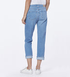Brigitte Cropped - Folk Distressed