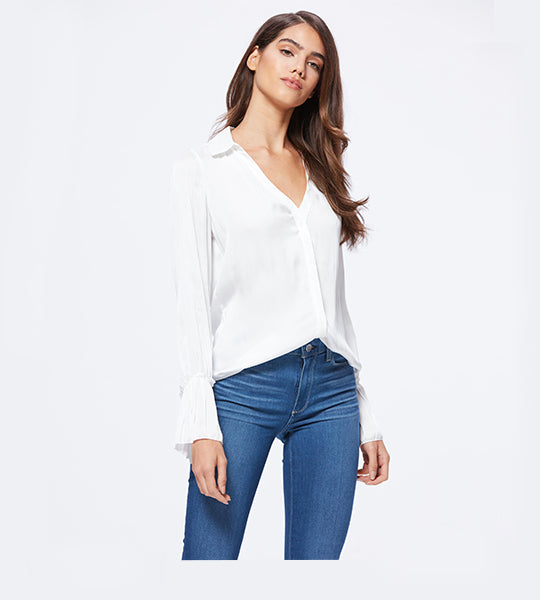 Abriana Shirt White