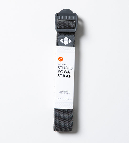 6' Essential Studio Strap Charcoal