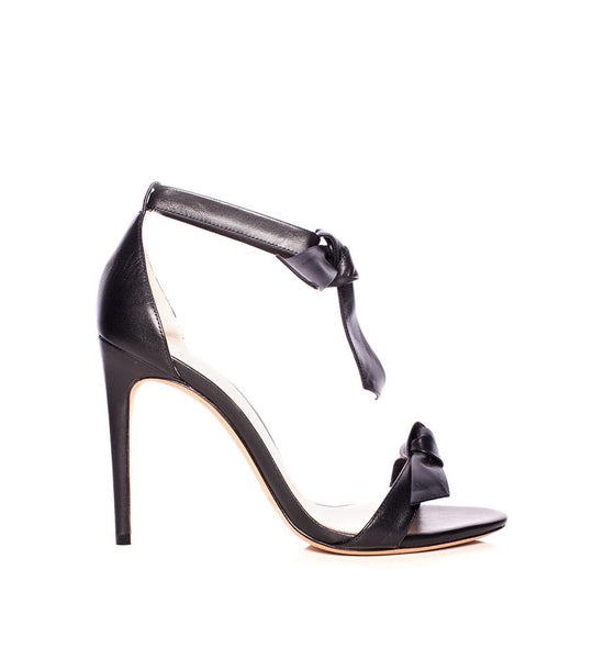 Clarita Leather Ankle-Tie Sandal