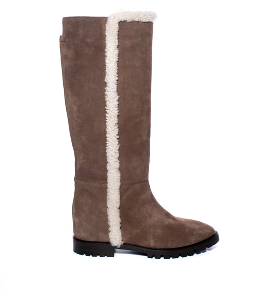 Cheyenne Shearling Trim Boot